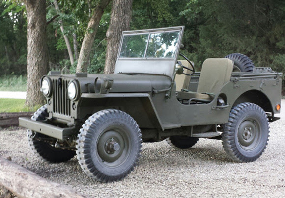 Mark Naughton's 1951 Willys M38