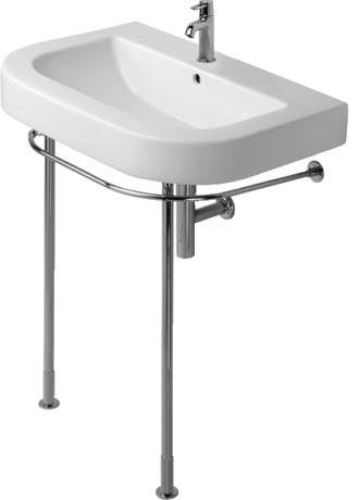 Happy D. Washbasins Metal Console - contemporary - bathroom sinks ...