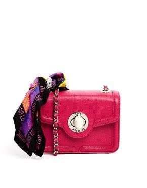 Immagine 1 di Love Moschino - Borsa a tracolla con foulard