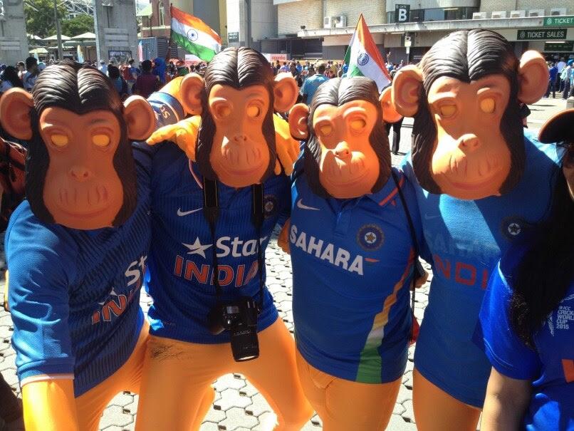 Indian Fans SCG