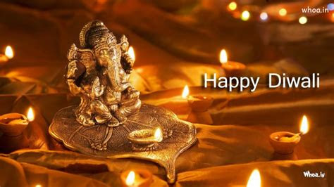 happy diwali  lord ganesh hd wallpaper