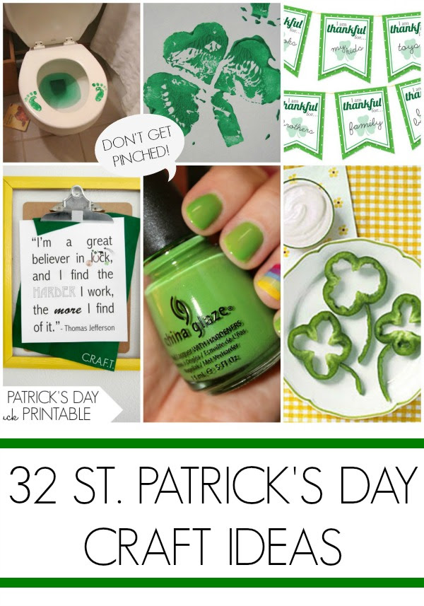 32 St Patricks Day Crafts Craft