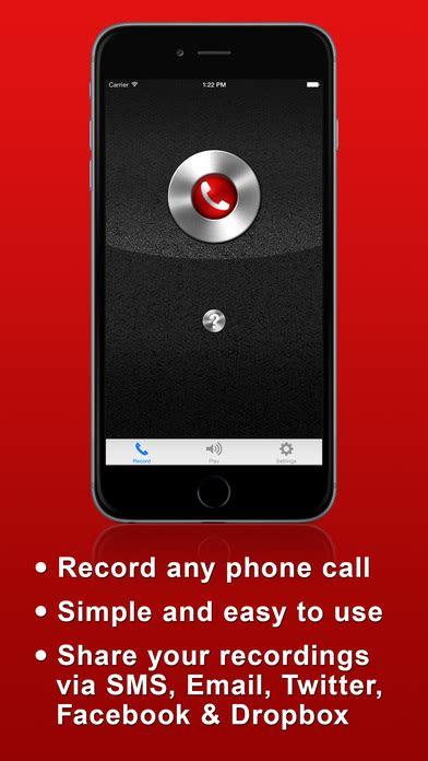 call recorder lite record phone calls  iphone  ios