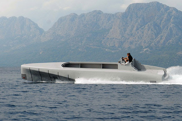 Mercedes Silver Arrow hits the water - boats.com