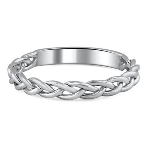 Custom Braided Wedding Ring   Brilliant Earth