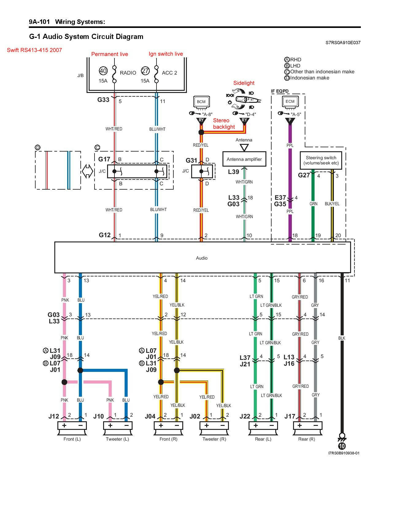 Diagram Suzuki Swift Ht51s User Wiring Diagram Full Version Hd Quality Wiring Diagram Diagramwysss Corocrozdalastria It