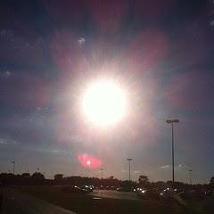 Whoa. Sun. #nofilter