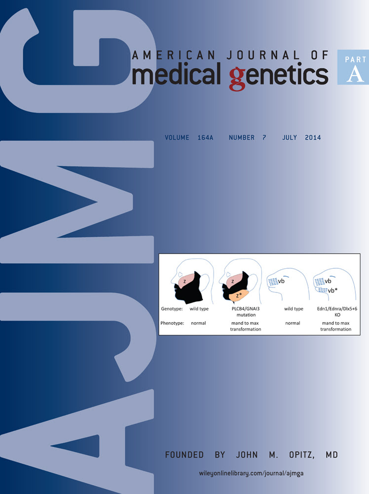 American Journal of Medical Genetics Part A