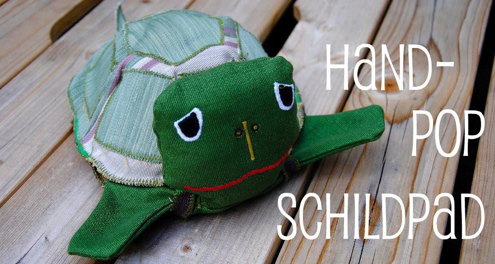 Handleiding schildpad-handpop