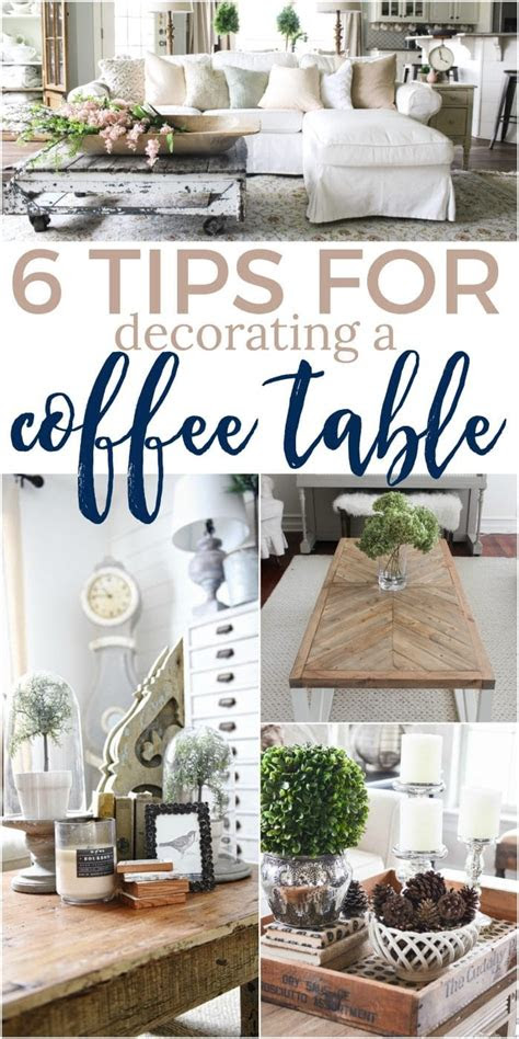tips    decorate  coffee table  turquoise home