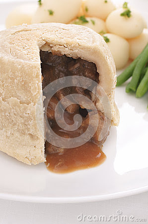 Steak And Kidney Pudding Stock Photo - Image: 51290170