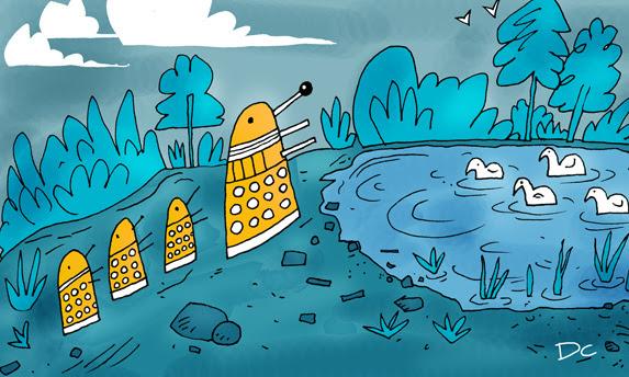 Dalek Pond