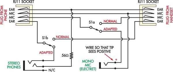 gaming headset jack wiring diagram