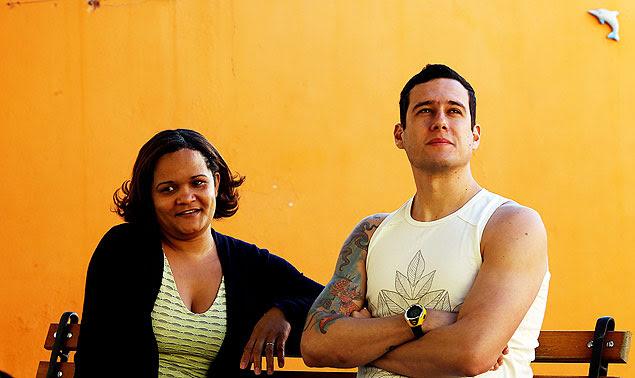 Ediana e Augusto, juntos há quase sete anos