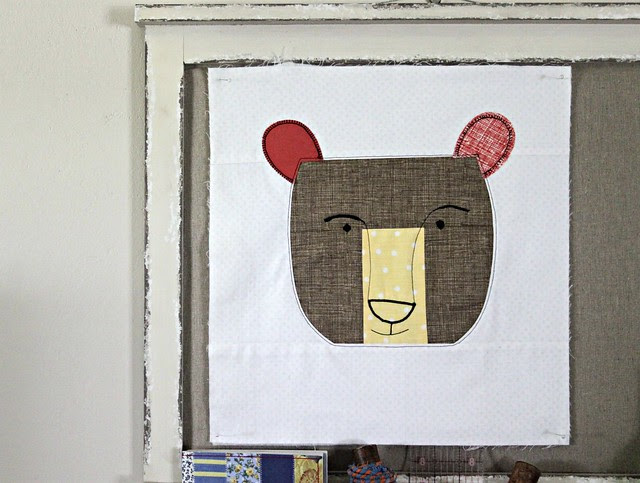 Bear Quilt Block