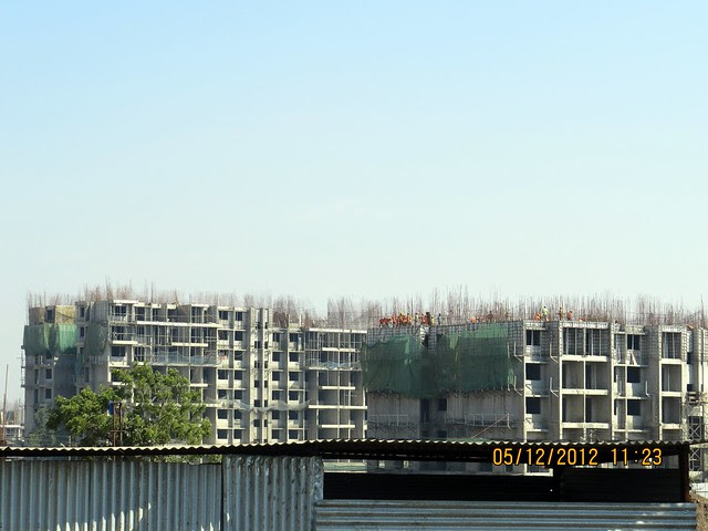 6th & 7th Avenue from School - Development in the 1st Year - Kolte-Patil Life Republic Marunji, Hinjewadi - Kasarsai Road, Pune 411057