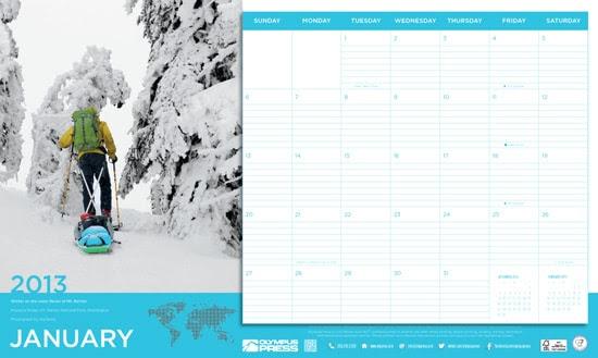 Brindes Grátis - Calendário 2013 Olympus Press