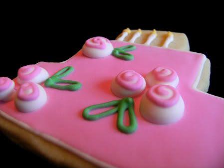 pink birthday posies side