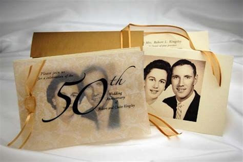 17 Best ideas about 50th Anniversary Invitations on