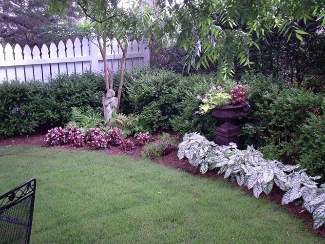 Rustic landscaping ideas for a backyard