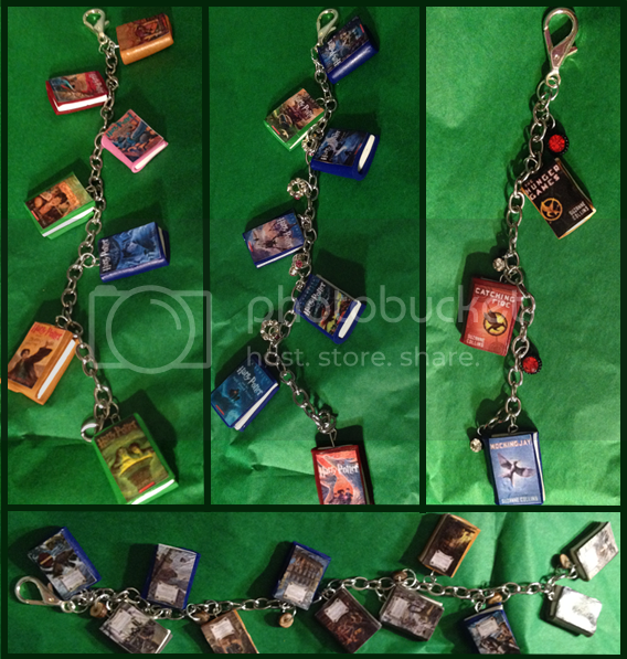 bookish charms