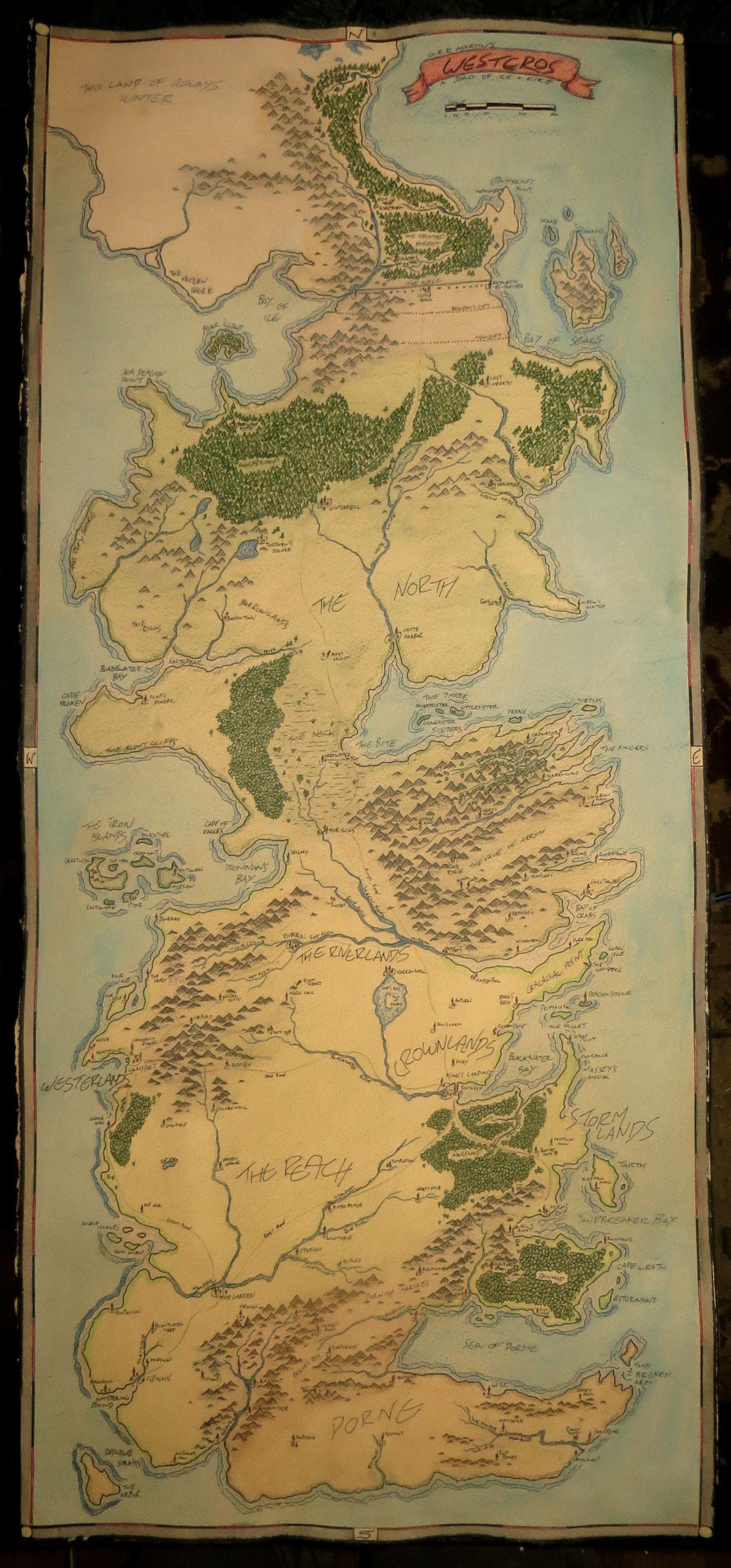 Westeros Map Wallpaper 48 Images