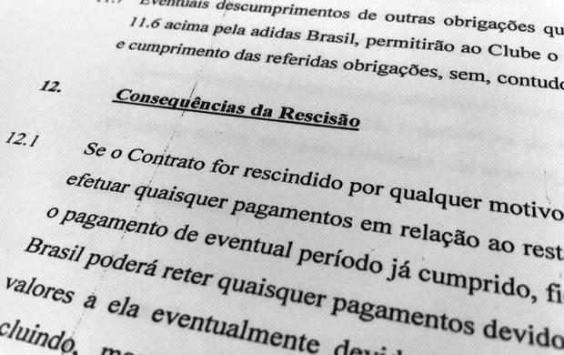 Contrato entre Flamengo e Adidas (Foto: Vicente Seda)