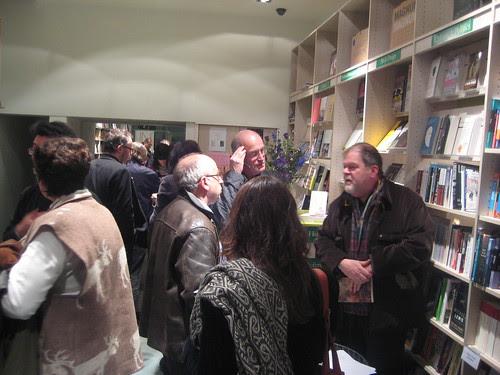 Iain Sinclair in Clerkenwell Tales Book shop