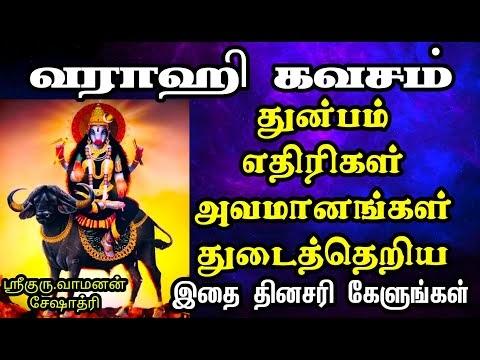 வராஹி கவசம் | ஆபத்து கஷ்டங்கள் நீங்க | VARAHI KAVACHAM | VAMANAN SESHADRI