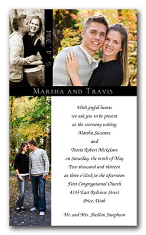 Different Ideas To Designing Photo Wedding Invitations   Home