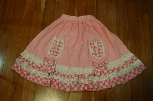 Lolita Closet Count! Skirts: Pink - Bodyline Bunny GIngham