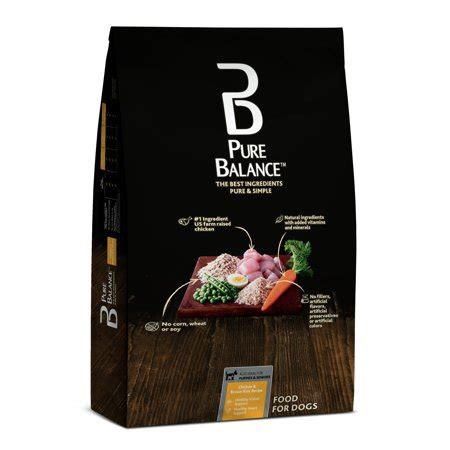 pure balance chicken brown rice recipe dry dog food
