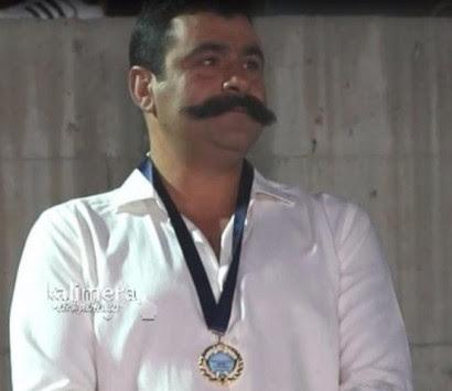Βραβεύτηκε για... το μουστάκι του! Ο πιο ανατρεπτικός διαγωνισμός στην Αρκαδία! [pics,vid]