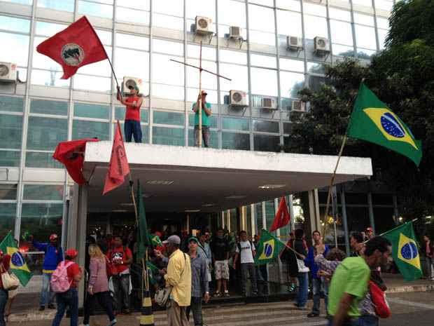 Os organizadores esperam 500 manifestantes no protesto (Ed Alves/CB/D.A Press)