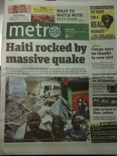 Metro Front Page: Hsiti rocked by massive quake