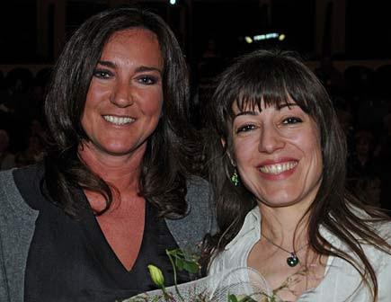 Laura Tonatto e Alessandra Montrucchio