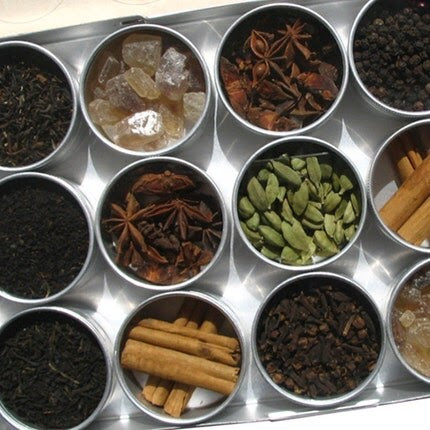 large chai tea kit. a perfect gift for your favorite tea lover.