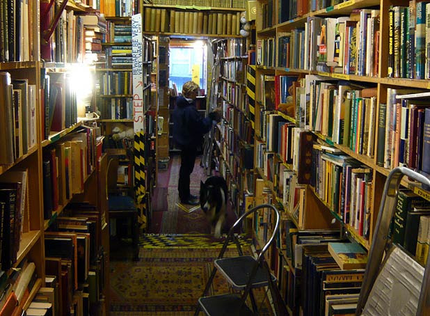 Second-hand bookshop
