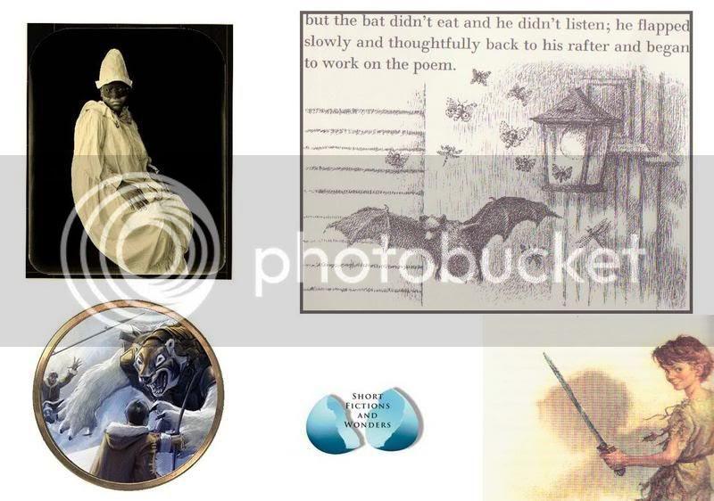 neil gaiman fragile things Bat-Poet Randall Jarrell Maurice Sendak Peter Pan J. M. Barrie Gustafson Golden Compass Philip Pullman One Big Self Investigation C.D. Wright