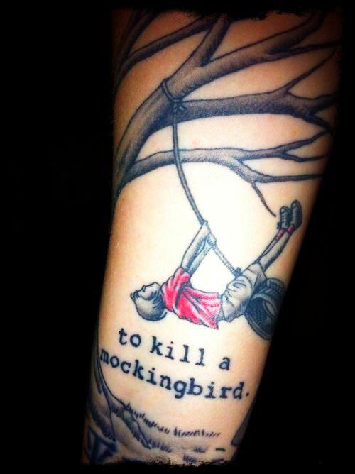 """""""To Kill a Mockingbird"""" tattoo"""