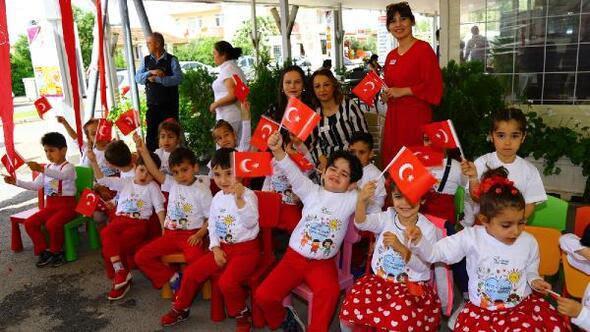 Manavgat Haberleri Miniklerden 23 Nisan Kutlaması Antalya Haberleri