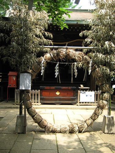 Shimenawa ring