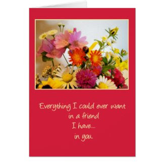 The Friend I Have in You (short version) Greeting Card