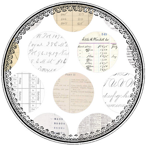 11_SAMPLE_JPEG_larger_circle_EPHEMERA_12_and_half_inch_SQ_350dpi_melstampz