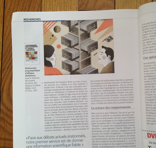 My collaboration for  Temoignage cretienne by la casa a pois