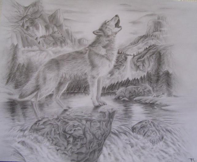 wolf 2 by darkstage94 on DeviantArt
