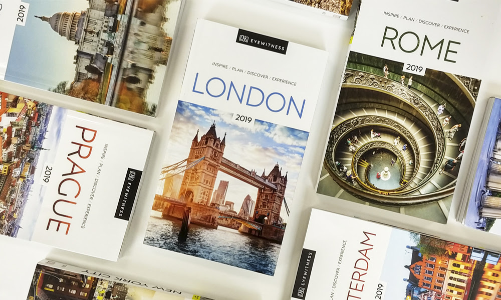 Selection of our new DK Eyewitness Travel Guides