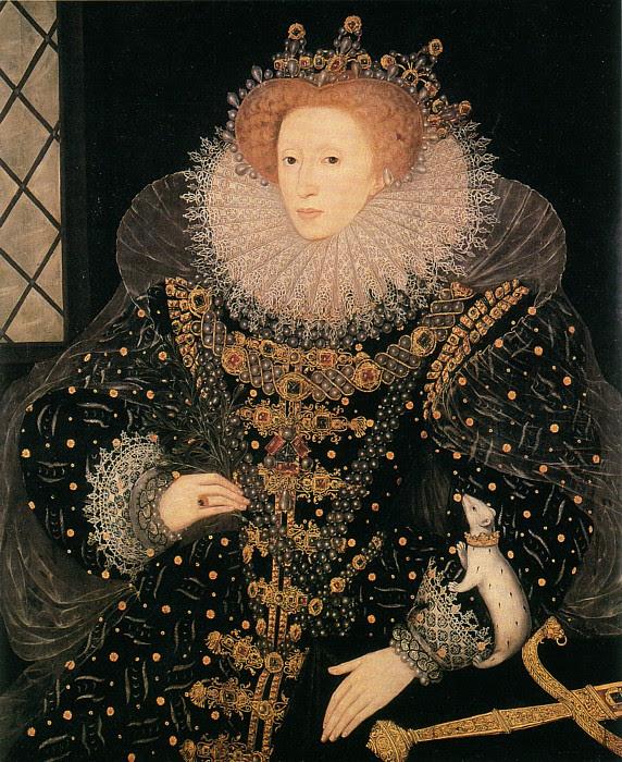 Image result for ermine portrait elizabeth i