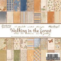 Набор бумаги для скрапбукинга от Maja Design - Walking in the forest - Paper Pad, 15х15 см, 36 листов - ScrapUA.com