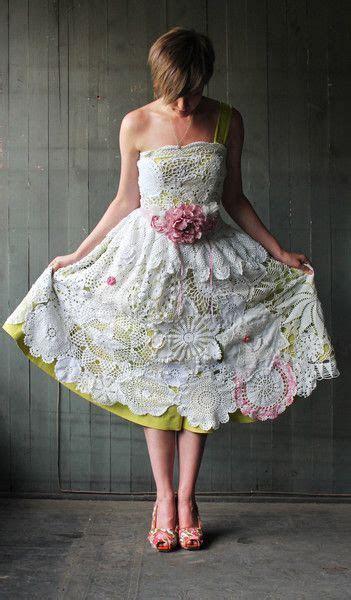 diy Handmade, Vintage Doily Wedding Dress   Easy Sewing